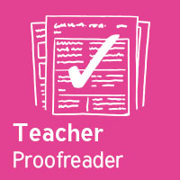 Teacher Proofreader - RE