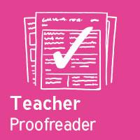 Teacher Proofreader - KS3/4