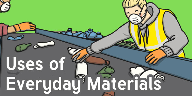 Y2 use of everyday materials primary resources page 1 for Use of waste material