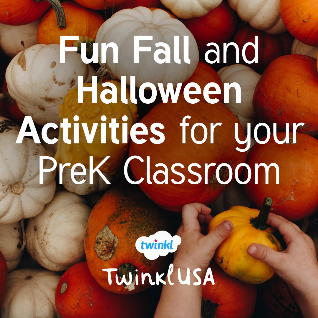 fun fall and halloween activities for your pre-k classroom