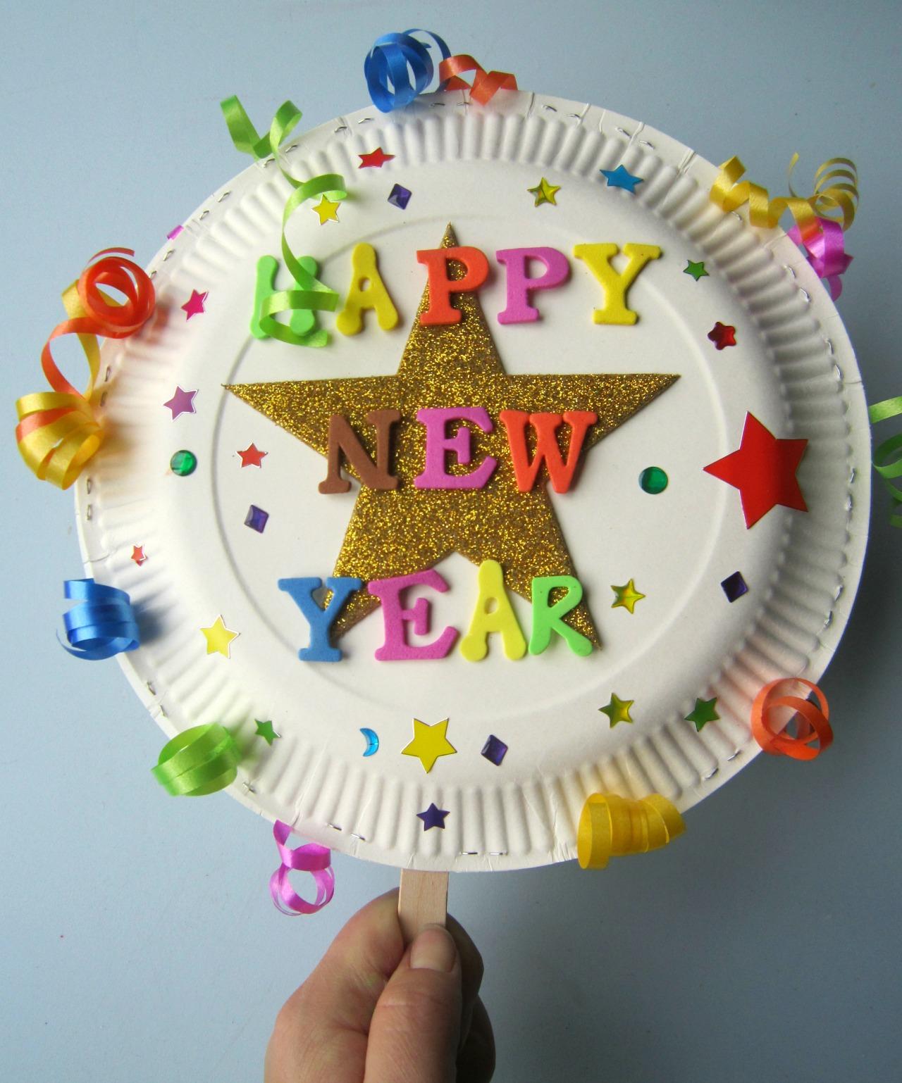 New Year's Eve Countdown Shaker